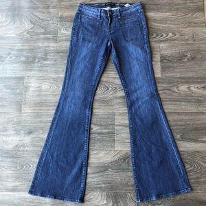 Stitch's Fox Flare Jeans Medium Wash Size 27